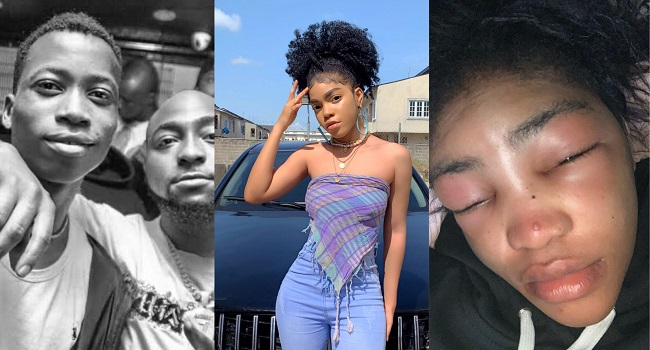 Davido Terminates Contract With Lil Frosh After He Beat Up His Girlfriend.