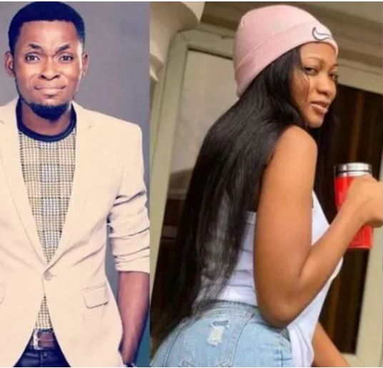 Meet The 'Secret' Wife And Daughter of Nigerian Comedian Mark Angel