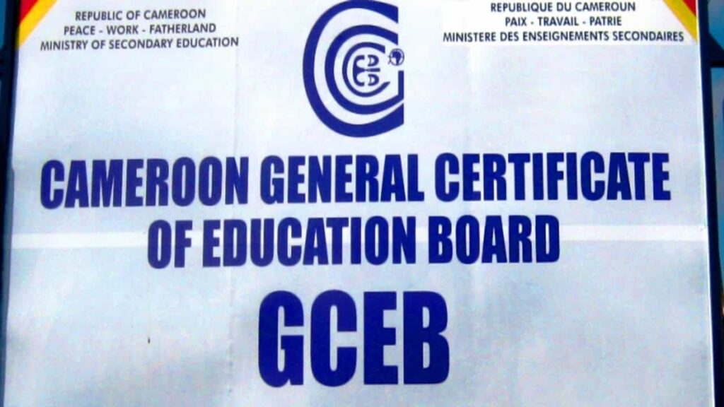 Gce Results 2021 - Cameroon